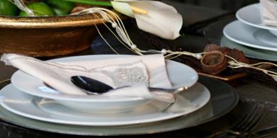 verleih von Geschirr und Besteck